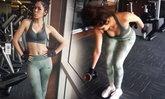 ล่าสุด ชมพู่ อารยา สุดตรองออกกำลังกายโชว์หน้าท้อง 3 เดือน