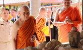วัดชินวรารามวรวิหารขุดพบเศียรพระพุทธรูปอายุ400ปี