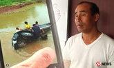 แห่ชื่นชมดาบตำรวจโดดลงน้ำช่วย 3 แม่ลูกรถเสียหลักตกน้ำ