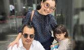 ครอบครัวหรรษา ไก่ มีสุข พร้อมสามีและลูกสาว ออกงานน่ารักมาก