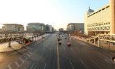 สถานที่ท่องเที่ยวและถนนในปักกิ่งโล่ง คนกลับบ้านฉลองตรุษจีน