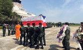 กองทัพเรือชี้ลมเปลี่ยนทิศ ต้นเหตุทำนักโดดร่มดับ