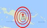 แผ่นดินไหว 6.2 ปาปัวนิวกินี ไม่เตือนสึนามิ