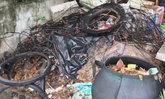 ทารกน้อยถูกนำมาทิ้งตากฝนในถังขยะ ย่านรัชดา