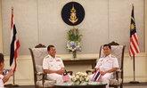 ผช.ผบ.ทร.ต้อนรับคณะผู้แทนกองทัพเรือมาเลย์