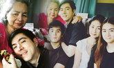 """สุขสันต์วันสงกรานต์ """"แซม ยุรนันท์"""" กับภาพครอบครัวครบทีม"""