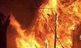 ไฟไหม้บ้านประจวบฯดับยกครัวพ่อแม่ลูก