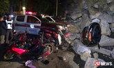 รถพ่วงลงเขาเบรกแตก ชนคาราวาน-หินเททับดับ 3 ศพ