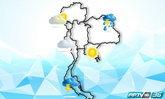 กรมอุตุฯ เผย เกือบทั่วทุกภาคมีฝนฟ้าคะนองต่อเนื่อง กทม.มีฝนร้อยละ 60