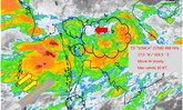 """อุตุฯ เตือนฉบับที่ 13 พายุ """"เซินกา"""" มีอิทธิพลถึง 29 ก.ค.นี้"""