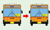 """""""เลขสายรถเมล์ใหม่"""" ในเส้นทางปฏิรูป 269 เส้นทาง มีภาษาอังกฤษปนด้วย!"""