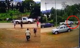 ผัวเมียถูกเด็ก 15 ขับกระบะถอยทับ อาการยังสาหัส