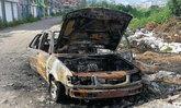 สองสามีภรรยาทะเลาะเรื่องซื้อรถ วางเพลิงเผาเก๋งตนเองวอด