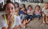 โมเม้นต์น่ารัก เจนี่ กับหลานๆ ของน้าเจี๊ยบ แก๊งนางฟ้าจูเนียร์