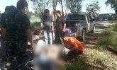ดับแล้ว ! หนุ่มคลั่งยิงพ่อเสียชีวิตที่ลพบุรี ก่อนยิงปะทะกับตำรวจ สิ้นใจแล้วที่ รพ.