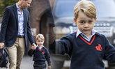 เจ้าชายจอร์จ ครองใจคนทั้งโลก อิริยาบถเสด็จไปโรงเรียนครั้งแรก