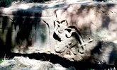 ตะลึง! หินหนานขนาดใหญ่มีรอยแกะสลักรูปคล้ายเทพพญานาค คาดอายุหลายร้อยปี