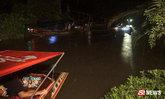 ฝนตกเรือเที่ยวอัมพวาชนกัน คนเรือร่วงน้ำดับ ลูกเมียร่ำไห้