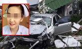 พังยับ! พยาบาลสาวซิ่งเก๋งพุ่งชนป้อมตำรวจ เสียชีวิตติดคาซากรถ