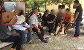 คืบ คดีลุงถูกวัยรุ่น 30 คนรุมสาหัส พลเมืองดีเจอรถตู้พุ่งชน