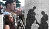 เวียร์ เบลล่า ลงรูป(เงา)คู่ทริปญี่ปุ่น สวยหล่อยันเงา