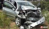 หนุ่มนักเรียนนอกขับรถวูบหลับ เสยท้ายรถพ่วง ทำพ่อเสียชีวิต