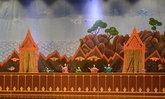 ภาพซ้อมการแสดงหุ่นกระบอก และหุ่นหลวง ในงานพระราชพิธีถวายพระเพลิงพระบรมศพฯ