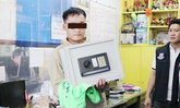 ช่างไฟทำขาเป๋ทุบผนัง ขโมยตู้เซฟ-เซิร์ฟเวอร์กล้อง 64 ตัว เอาเงินใช้หนี้พนัน