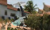 เครื่องบินเล็กตกที่บราซิล ดับยกลำ 3 ชีวิต