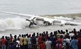 เครื่องบินตกในทะเลโกตดิวัวร์ ดับ 4 เจ็บ 6 คาดเจอพายุ