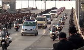 วันนี้เมื่อปีที่แล้ว 14 ตุลาคม เคลื่อนพระบรมศพ ในหลวง ร.9