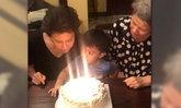 ณดา-ณดล หอบเค้กอวยพรวันเกิดคุณยาย ดวงดาว-โย ทัศน์วรรณ