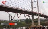 ชาวบราซิล 254 คนรวมตัวกระโดดสะพานหมู่ สร้างสถิติโลก