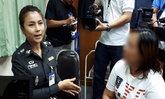 """รวบสาวแสบนำภาพตำรวจเน็ตไอดอล โพสต์เฟซบุ๊กด่า """"ผู้กองโรส"""""""