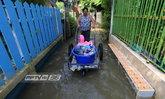 เกาะเกร็ด จ.นนทบุรี น้ำท่วมร่วมเดือน กระทบชาวบ้านขายของไม่ได้