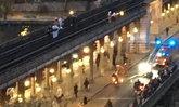 วัยรุ่นฝรั่งเศสโชว์ผาดโผน กระโดดบนหลังคารถไฟ พลาดเสียชีวิต