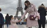 """ดูลีลา """"น้องปีใหม่"""" กุลสตรีของแม่แอฟ ทักษอร โชว์เต้นกลางปารีส"""