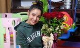 แพท ณปภา สุดปลื้มใจ เบนซ์ ส่งดอกไม้ให้วันครบรอบแต่งงาน