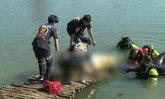 แก๊งหนุ่มใหญ่เมาคึก ลงว่ายน้ำท่ามกลางอากาศเย็น เป็นตะคริวจมน้ำดับต่อหน้าเพื่อน