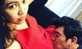 ภาพน่าเอ็นดู ชาคริต ก้มจูบท้องภรรยาอย่างสุดรักสุดถนอม
