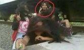เซลฟี่สยอง สาวน้อยอินโดฯ ถ่ายรูปใกล้รางรถไฟ ถูกชนหวิดดับ