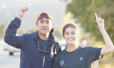 คู่นี้ก็หวาน เปอร์ สุวิกรม ควงนางเอกสาว ยิหวา วิ่งก้าวคนละก้าว