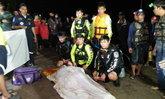 เศร้าใจส่งท้ายปี พ่อลูกหาปลาเรือล่ม ฮึดช่วยลูกให้รอด-ตัวเองตาย