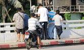สาวเครียดโดดสะพานคลองอู่ตะเภา หาดใหญ่ พลเมืองดีช่วยทัน