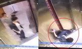 สยอง! สาวจีนเข้าลิฟต์ แต่เกิดขัดข้อง สะดุดล้ม ถูกหนีบขาขาด