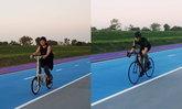 แม่หมู ปั่นจักรยาน 25 กม. ตัดพ้อชีวิต ทำไมรูปไม่เท่เท่า น้องนาย