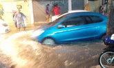 เช้านี้ฝนถล่มทั่วกรุง!  หลายพื้นที่มีน้ำท่วมขัง เขตมีนบุรีปริมาณฝนมากที่สุด