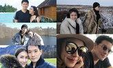 ส่องคู่รักคนบันเทิงควงคู่ฮันนีมูนเกือบหวาน เพราะทริปนี้มีตัวแถม
