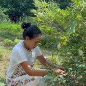 กบ ปภัสรา สวนเกษตรที่สุพรรณฯ