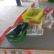 ตำรวจบุกรวบ ตัวแทนคลินิก ตั้งโต๊ะตรวจโควิดกลางตลาดนัด ย่านบางพลี